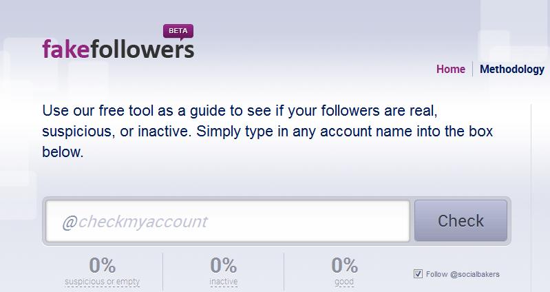 encontrar followers falsos