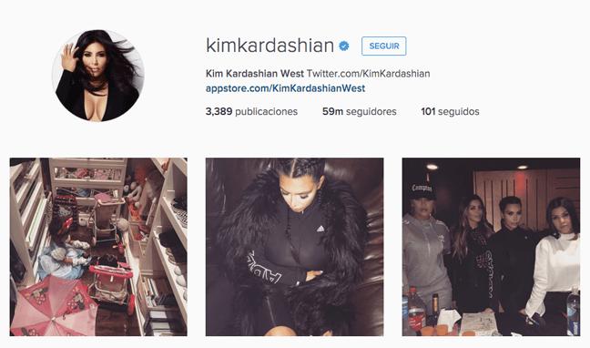 quién tiene más seguidores instagram | kim kardashian
