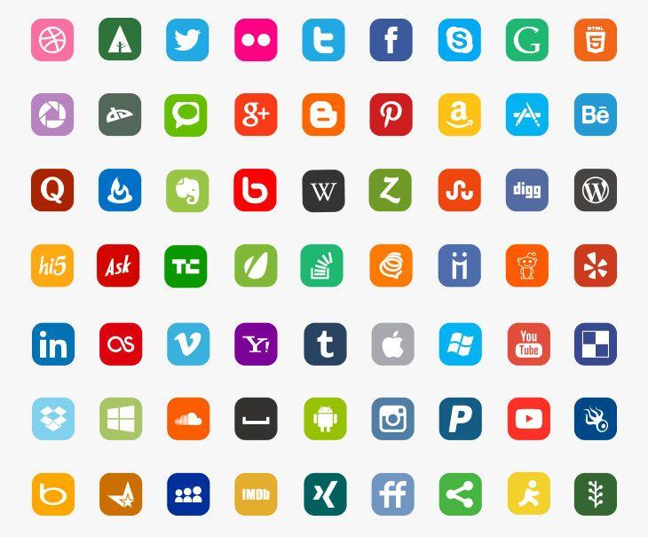 botones sociales gratis