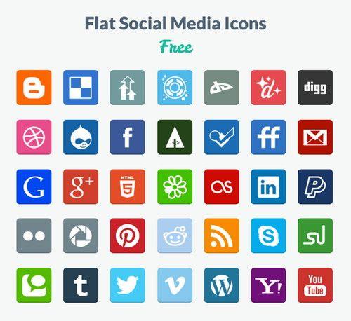 botones redes sociales gratis