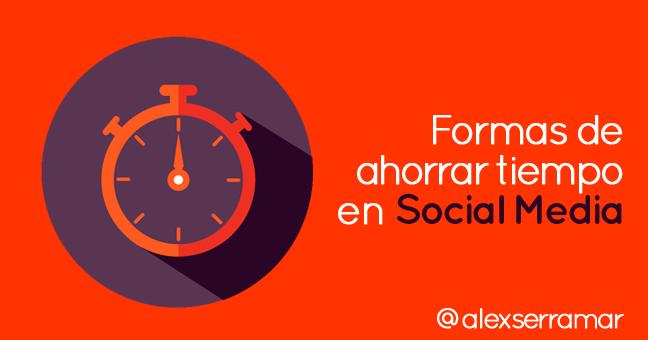 ahorrar tiempo en social media