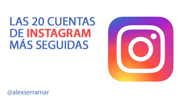 mas seguidores en instagram | 2016