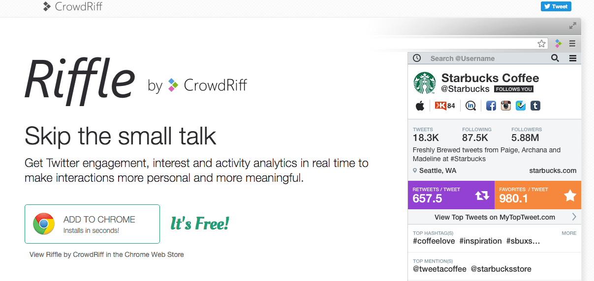 herramientas social media | crowdriff