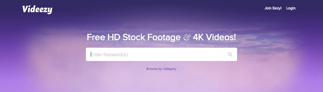 bancos de videos gratis - videezy