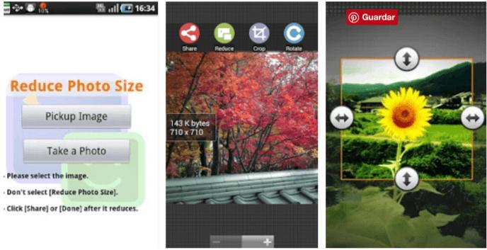 reducir tamaño foto en android
