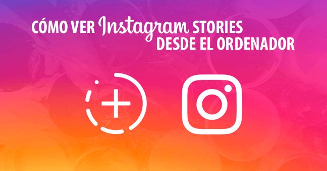 historias instagram ordenador