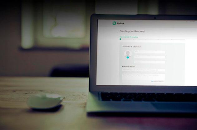 kinzaa hacer curriculum online