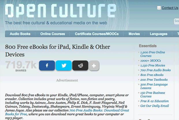 libros en pdf | open culture