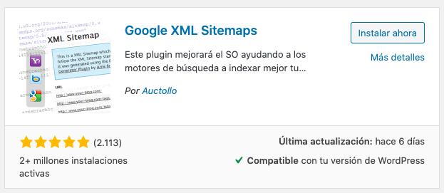 google xml sitemap plugin wordpress