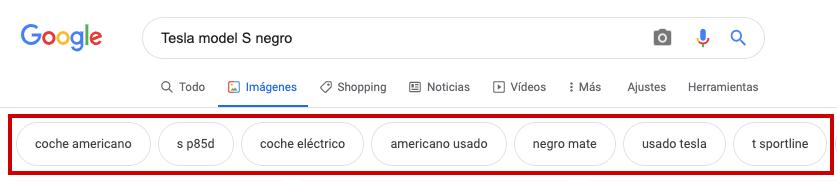 etiquetas google imágenes