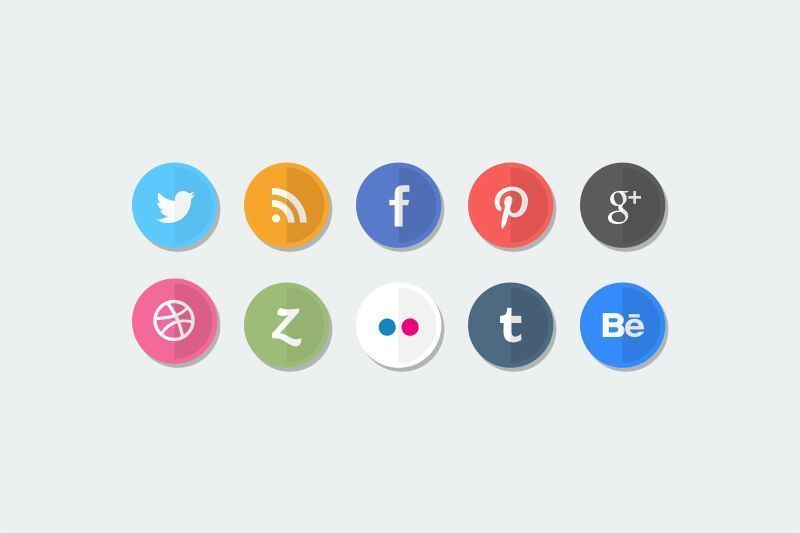 pack social buttons