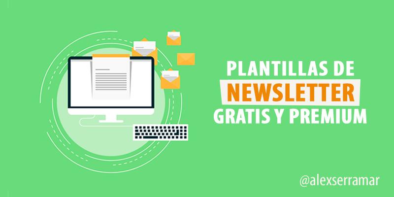 ▷ Las mejores plantillas de Newsletter Gratis y Premium para 2017