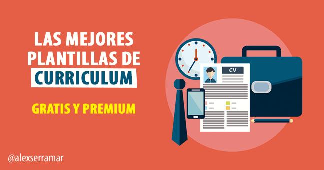 Plantillas Y Modelos Curriculum Vitae Gratis Y Premium En 2019