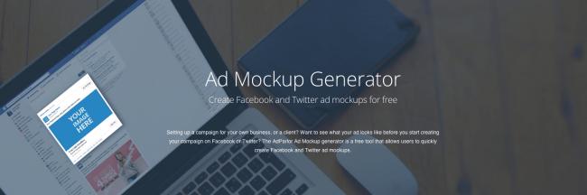 herramientas social media | adparlor mockup generator
