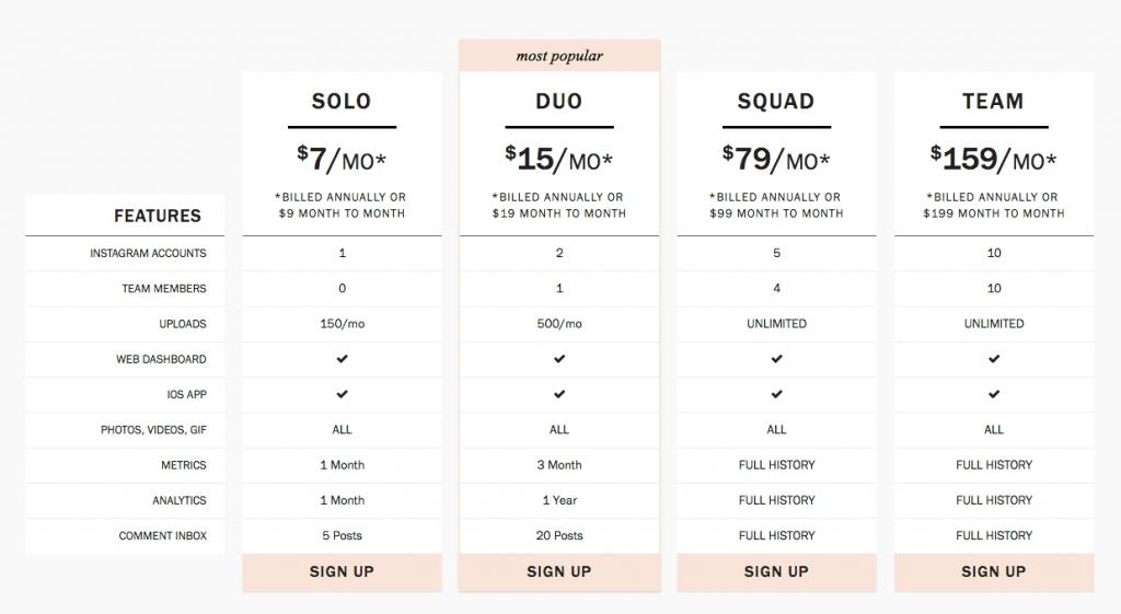 planogram precios