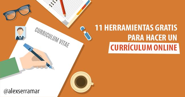 ▷¡El TOP Herramientas fáciles para hacer un Curriculum Online GRATIS!