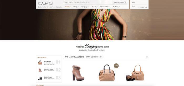 plantilla para tienda online woocommerce wordpress 7