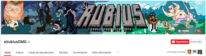 elrubius youtubers españoles