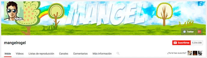 youtubers españoles mangelrogel