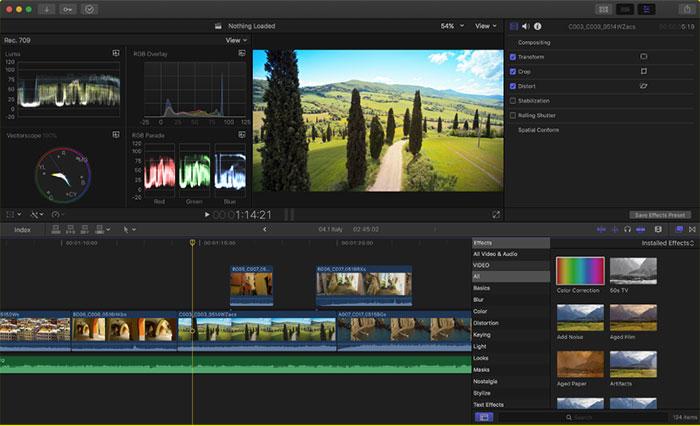 programas para editar videos - Final Cut
