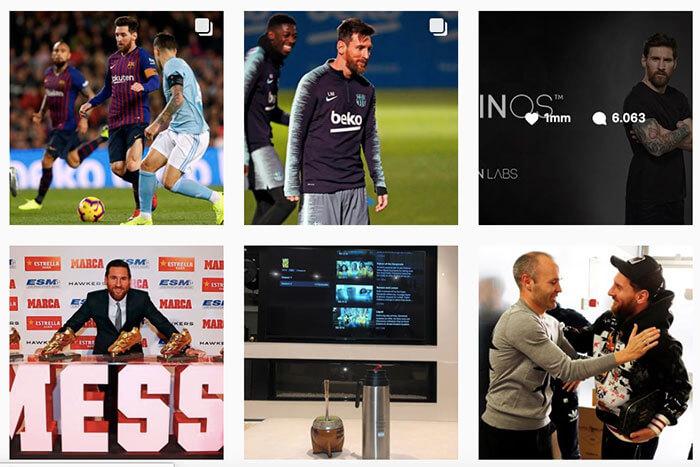 quién tiene más seguidores en instagram - Messi