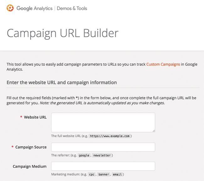 herramienta campaign url builder
