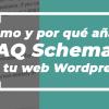 cómo crear faq schema
