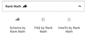 rank math vs yoast - editor bloques