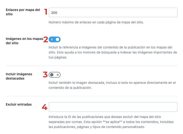 sitemap con rank math
