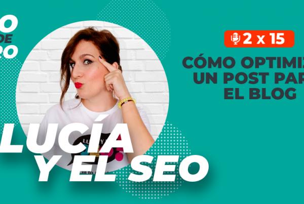 episodio 31 con Lucía Rico
