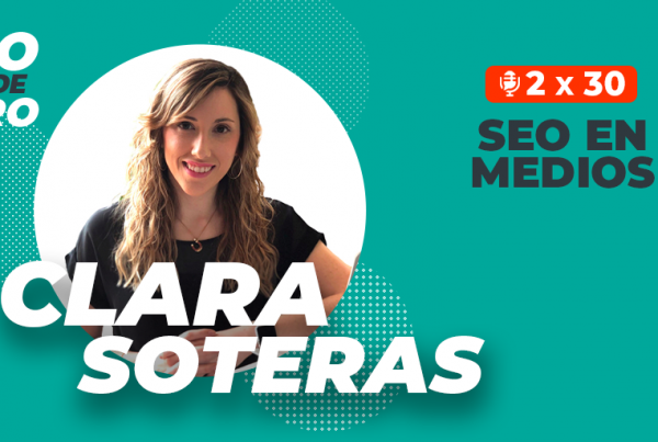 Clara Soteras - seo en medios